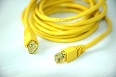 Students can make Ethernet cable for a computer networking project.