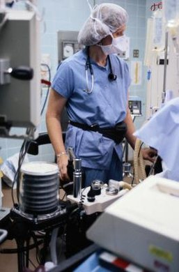 Anesthesiologists study for up to 12 years before beginning work.