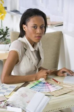 An understanding of color and composition is important for an interior designer's work.