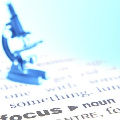"Noun or verb? Some, like ""focus,"" can be either depending on context."
