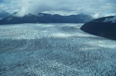 The ice shelves in Antartica give scientists a window into carbon dioxide levels over the last 800,000 years.