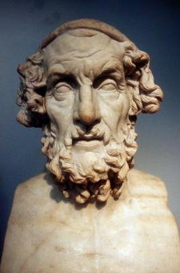 "Homer wrote ""The Iliad,"" which is set in the final weeks of the Trojan War."