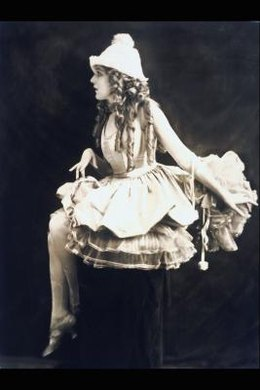 Silent film stars like Mary Pickford served as 1920s fashion icons.