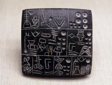 Mesopotamians used clay tablets to record sales, inventory and events.