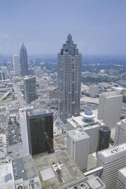 Atlanta is the ninth largest metropolitan area in the United States.