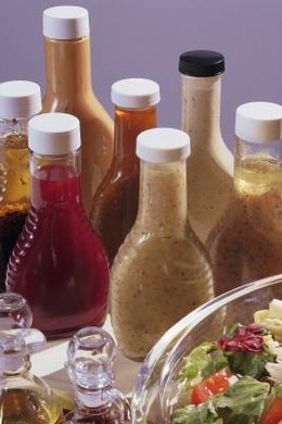 Salad dressings and vegetable oils are low in potassium.