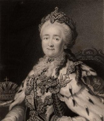 "Famous writer Denis Diderot gave Catherine her nickname ""Catherine the Great"" while visiting her in Russia."
