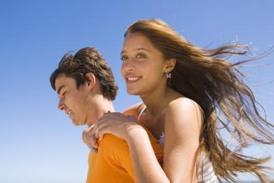 During adolescence, teenagers might focus on relationships with their peers.