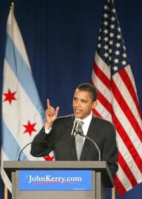 Barack Obama's first political office was as an Illinois state senator.