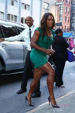 Athletes, like Serena Williams, have agents to help them with contracts and endorsements.