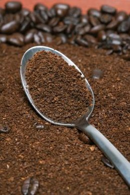 Coffee grounds contain nutrients that plants can use for growth.