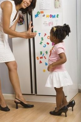 Parents can easily childproof their refrigerator in just a few minutes.