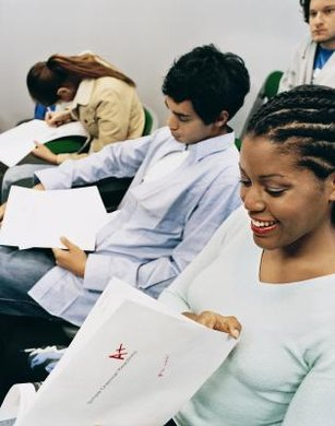 Students can retake the test until they attain their desired score.