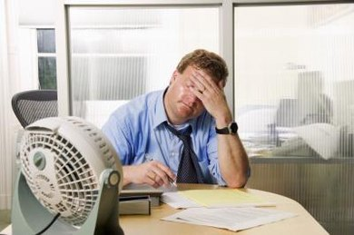 Humans regulate body temperature by sweating.