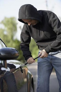 If your property was stolen from your car, whether it was unlocked might not be the major issue.