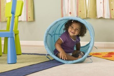 If your munchkin is hiding from change, incorporate fun transition time routines.