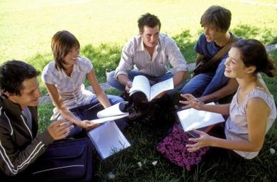 Peer tutoring can occur one-on-one or in small groups.