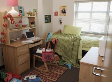 Dorm living means sharing space with a roommate who may have different habits and values.
