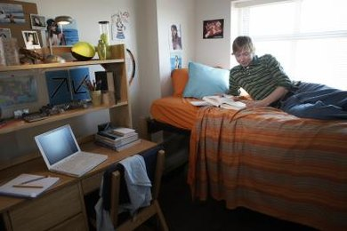 You can use dorm furniture to maximize your use of space.