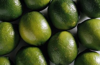 Lime is a classic ingredient in green curry paste.