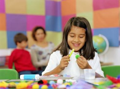 Activities that incorporate crafting or competition will help keep students engaged.