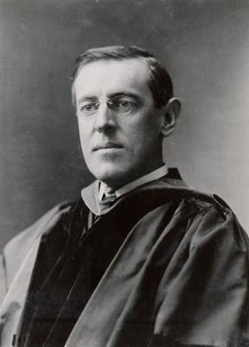 Woodrow Wilson was president of Princeton University from 1912 to 1920.