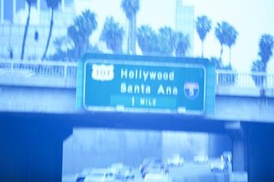 Hollywood, California is a stereotypical city and movie-making mecca.