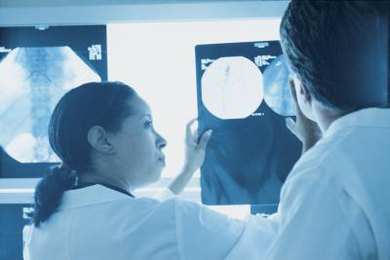 Radiologists interpret images obtained through X-ray, MRI and CT scans.
