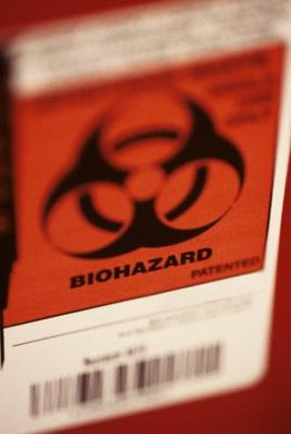 Orange codes are associated with major threats, such as biohazard risks.