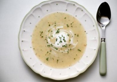 Make potato soup in a slow cooker, but add the milk at the end.