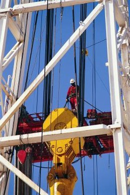 Petroleum engineers design oil-drilling equipment.