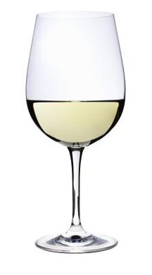 Running your finger around a wine glass creates a vibration that makes the wine glass sing.