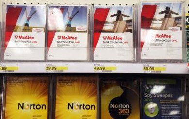 McAfee comes packaged with many new PCs.
