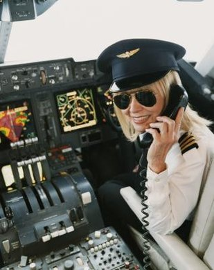 Airline and commercial pilots are responsible for the safe operation of their aircraft.