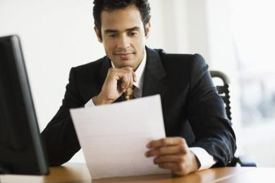 Employers use job application forms to identify potential employees.