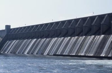 Hydropower often requires the construction of large dams.