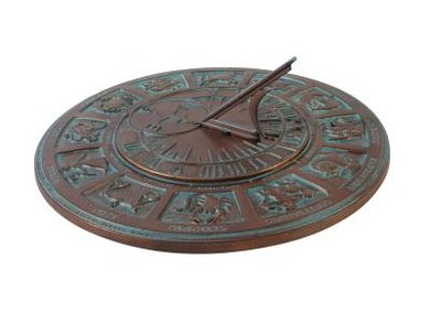 Sundials can accurately tell the time based on the position of the sun.