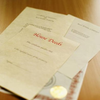 Copies of recorded property deeds are available to the public.