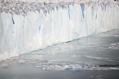 Decreasing glaciers and rising sea levels are two of the major effects of global warming.