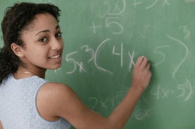 Algebra is one type of math that may be taken in eighth grade.