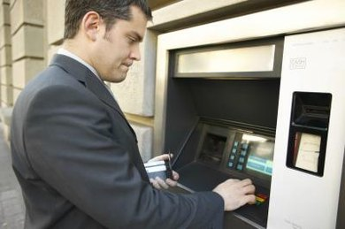 You can check your account balance at an ATM machine.