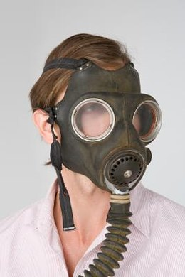 The activated charcoal in the filters of a respirator keeps your lungs safe by adsorbing toxic gases.