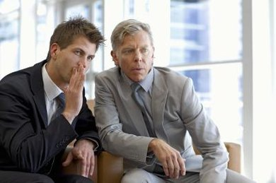 Gossiping about an undermining co-worker only brings you down to his level.