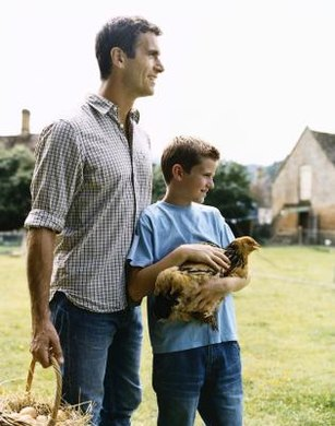 Over 30,000 family farms raise chickens in the U.S. as of 2013.