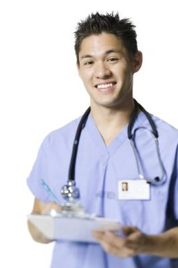 RNs have to complete a specific degree program and become licensed.