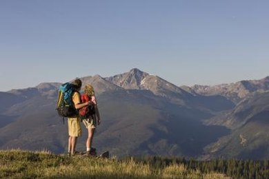 A poem about hiking may be a metaphor for the journey of life.