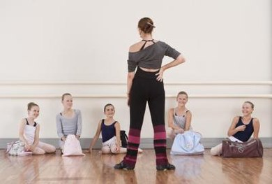 Dance teachers can work with a broad array of ages and skill levels.