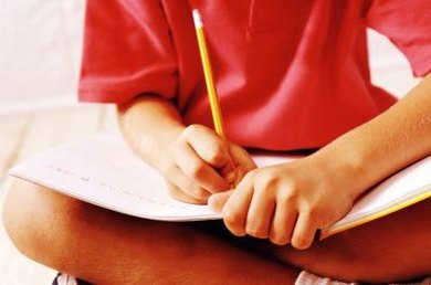 For some kids, taking notes doesn't come naturally.
