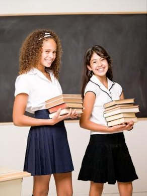 School uniform policies are intended to remove social barriers among students.