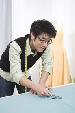 A fashion designer must know all the steps to making a design idea become a reality.